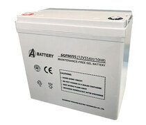 Аккумулятор A-Battery 6GFMJ55 (12V55AH/10HR)