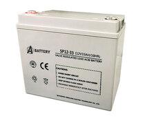 Аккумулятор A-Battery SP12-33 (12V33AH/10HR)