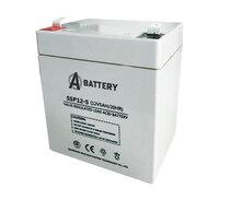 Аккумулятор A-Battery SSP12-5 (12V5AH/20HR)
