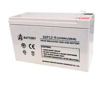 Аккумулятор A-Battery SSP12-9 (12V9AH/20HR)