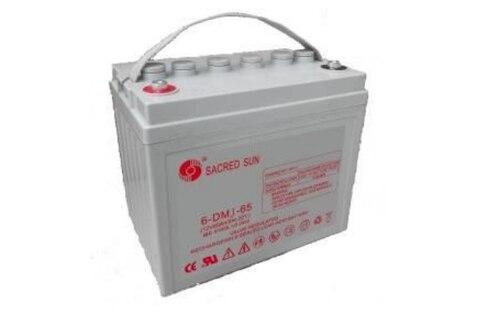 Аккумулятор Sacred Sun 6-DMJ-65 12V65Ah