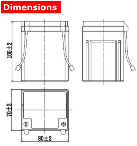 Аккумулятор A-Battery CT12025 (12V2,5AH/10HR)