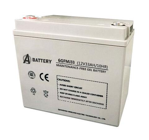 Аккумулятор A-Battery 6GFMJ33 (12V33AH/10HR)