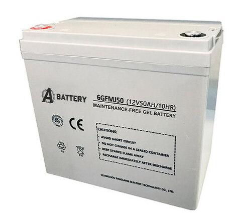 Аккумулятор A-Battery 6GFMJ50 (12V50AH/10HR)