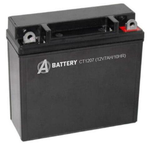 Аккумулятор A-Battery CT1207 (12V7AH/10HR)