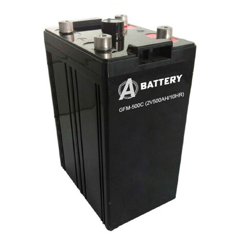 Аккумулятор A-Battery GFM-500C (2V500AH/10HR)