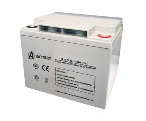 Аккумулятор A-Battery SP12-38 (12V38AH/10HR)