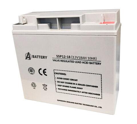 Аккумулятор A-Battery SSP12-18 (12V18AH/10HR)