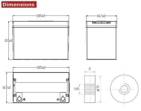 Аккумулятор A-Battery 6GFMJ90 (12V90AH/10HR)