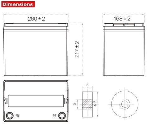 Аккумулятор A-Battery SP12-80 (12V80AH/10HR)
