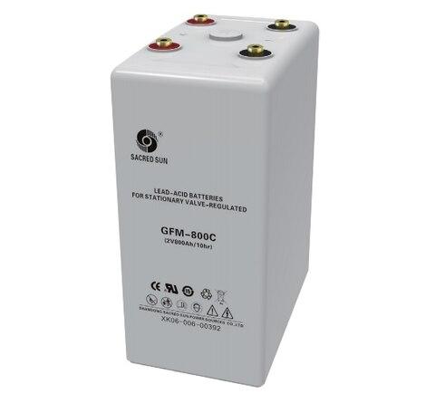 Аккумулятор Sacred Sun GFM-800C 2V800Ah