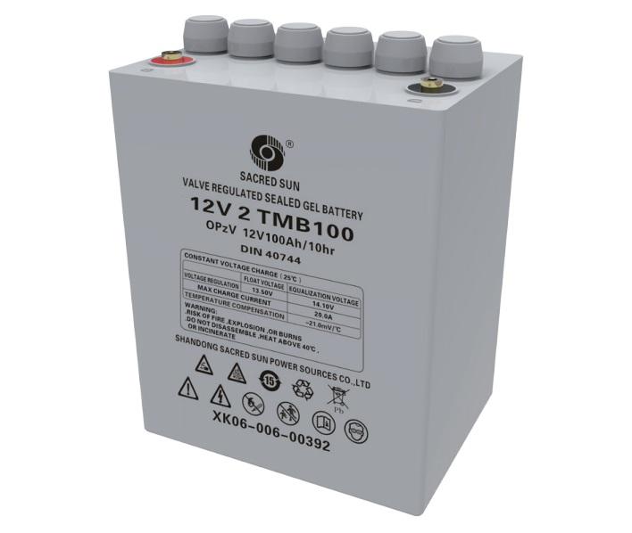 Аккумулятор Sacred Sun 12V 2 OPzV 100 12V100Ah