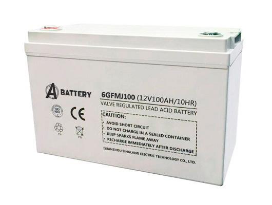 Аккумулятор A-Battery 6GFMJ100 (12V100AH/10HR)