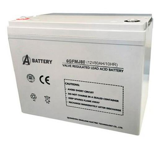 Аккумулятор A-Battery 6GFMJ80 (12V80AH/10HR)