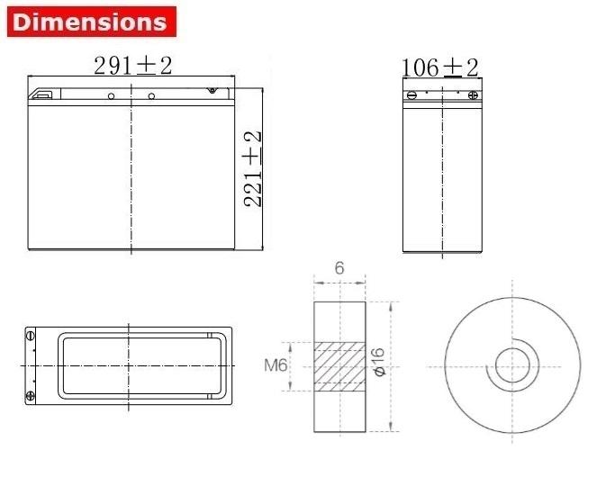 Аккумулятор A-Battery FT12-50 (12V50AH/10HR)