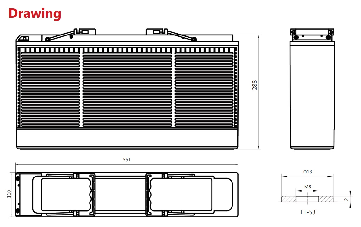 Аккумулятор Sacred Sun FTB12-125 12V125Ah