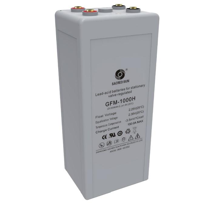 Аккумулятор Sacred Sun GFM-1000H 2V1000Ah