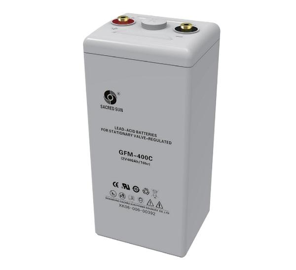 Аккумулятор Sacred Sun GFM-400C 2V400Ah
