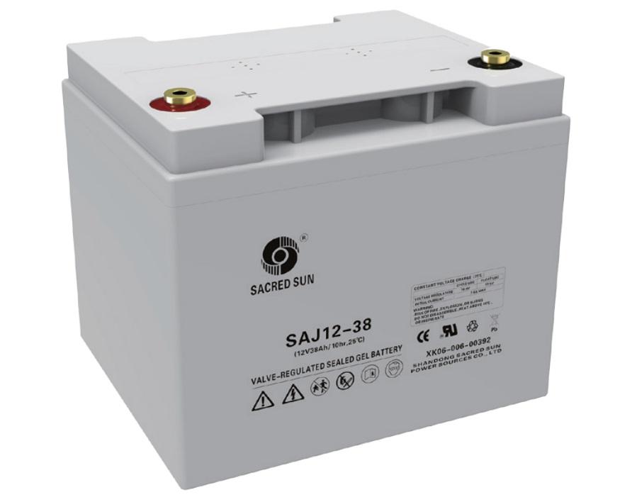 Аккумулятор Sacred Sun SAJ12-38 12V38Ah